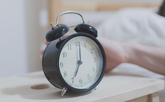 Sleep health - Set a regular bedtime routine