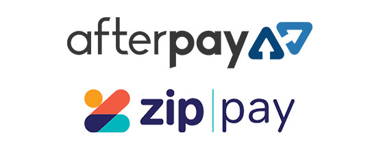 AfterPay & Zip Pay Available Now