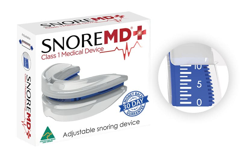 SnoreMD Box Photo - How it Works