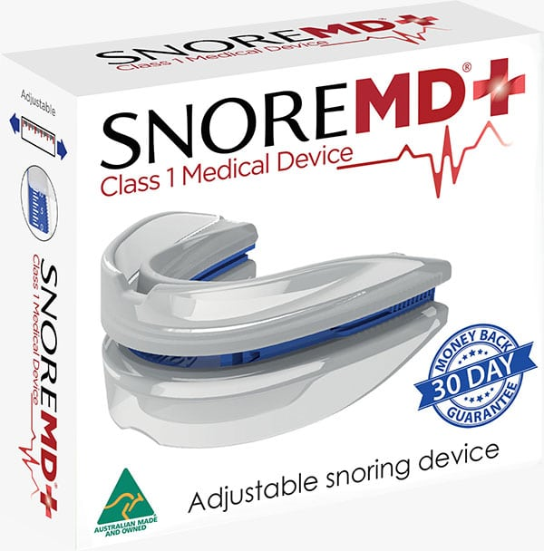Reduce Snoring - SnoreMD Packaging Photo